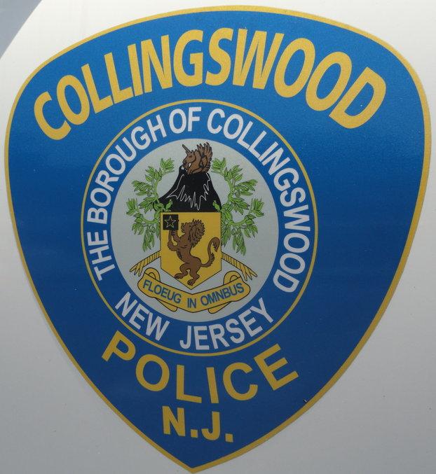 Collingswood Police logo. Credit: Matt Skoufalos.