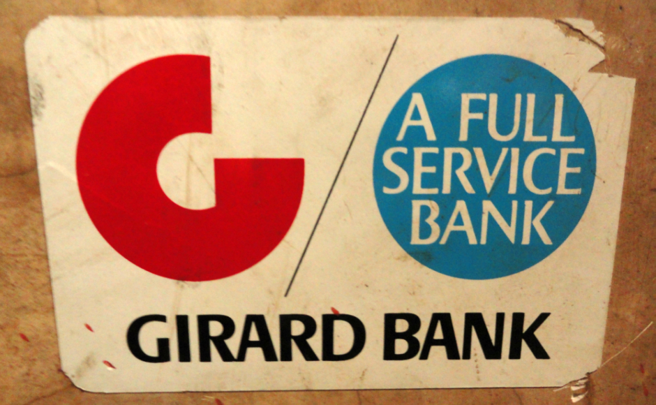 Girard Bank Sticker