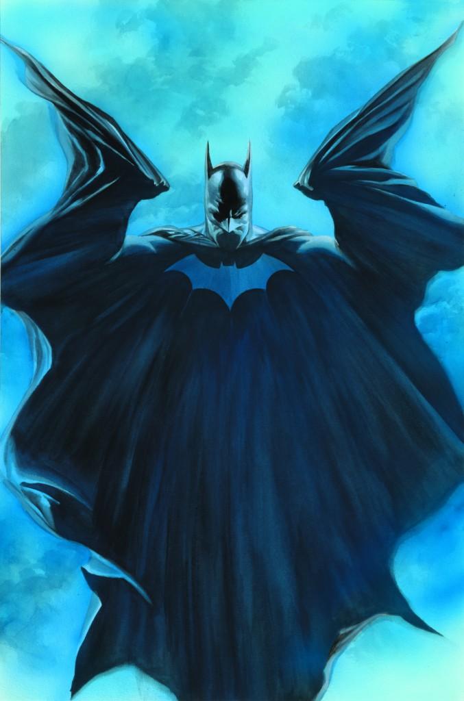 Batman, by Alex Ross. Credit: DC Entertainment.