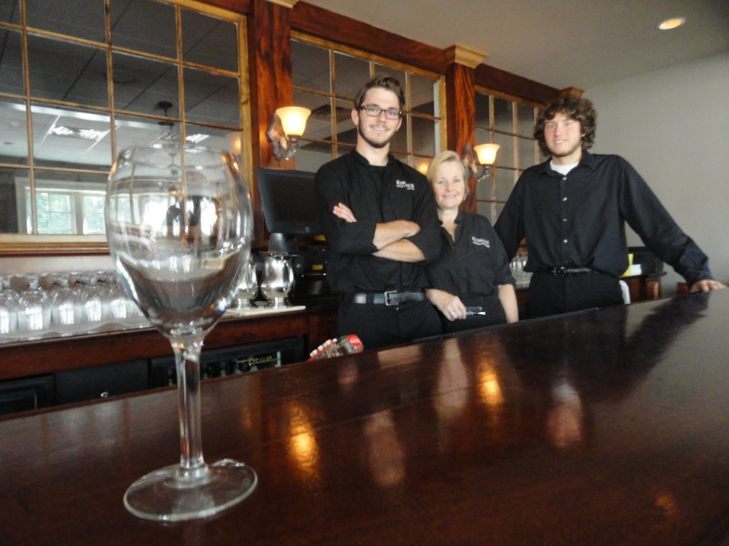 The staff at John Kunkel's Haddon Heights steakhouse are ready to consider alcohol sales. Credit: Matt Skoufalos.
