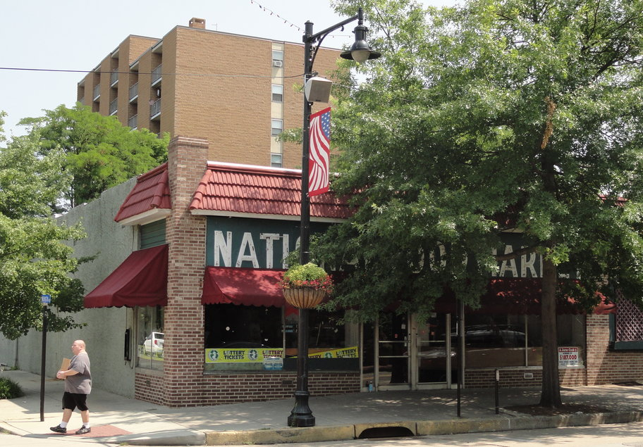 The mostly defunct National Food Market could still be converted into a second grocery store if MacFarlan's Market owners can secure financing. Credit: Matt Skoufalos.
