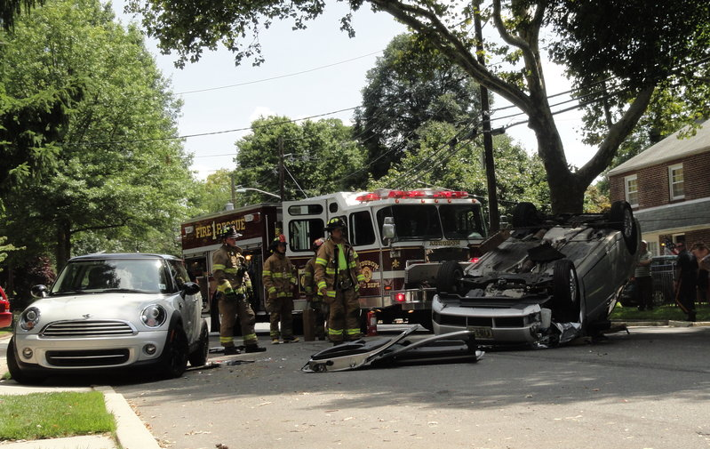 Audubon Traffic Accident Sends Woman To Hospital