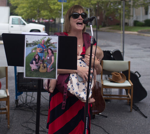 Organizer Amanda Kimmel said that her event was meant to normalize the practice of public breastfeeding. Credit: Tricia Burrough & Lilac Blossom Photography.