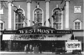 A popular photograph of the Westmont in its earliest incarnation. Credit: Haddon Twp. Historical Society.