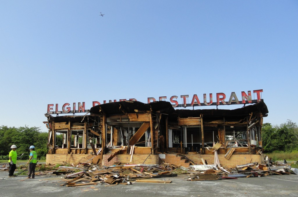 The Elgin Diner in Camden will be demolished to make way for a Family Dollar. Credit: Matt Skoufalos.