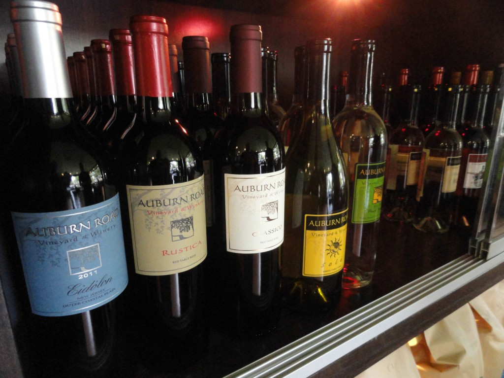 Jersey Java will carry the full line of wines from Auburn Road in its coffee shop, including six new blends that will ship in October 2014. Credit: Matt Skoufalos.