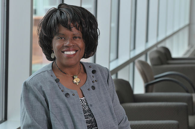 Natalie Reaves chairs the Department of Economics and Political Science at Rowan University. Credit: Rowan University.