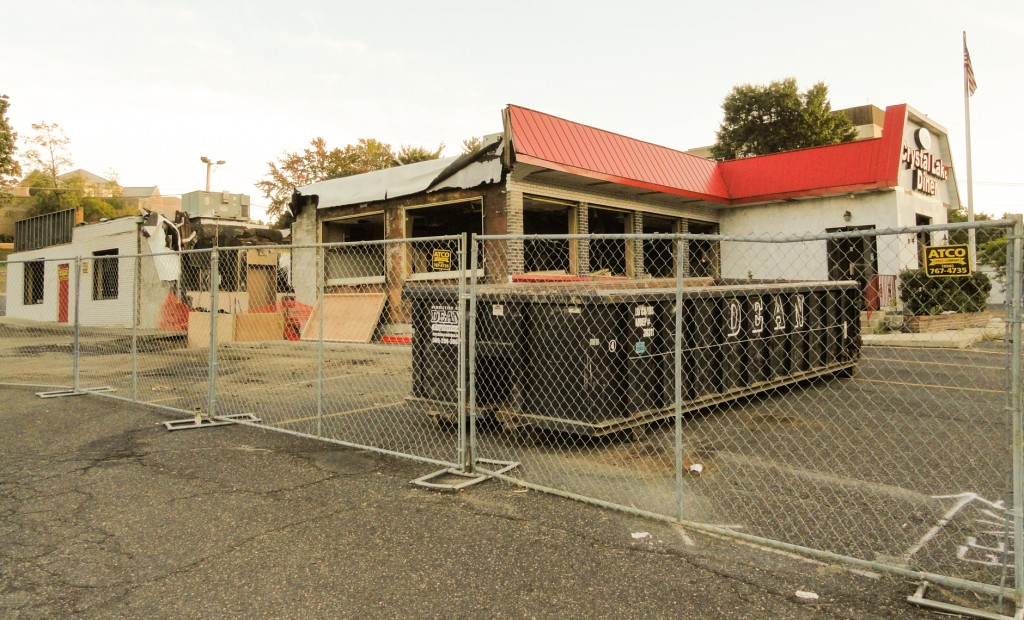 The Crystal Lake Diner is primed for a renovation, according to construction officials. Credit: Matt Skoufalos.