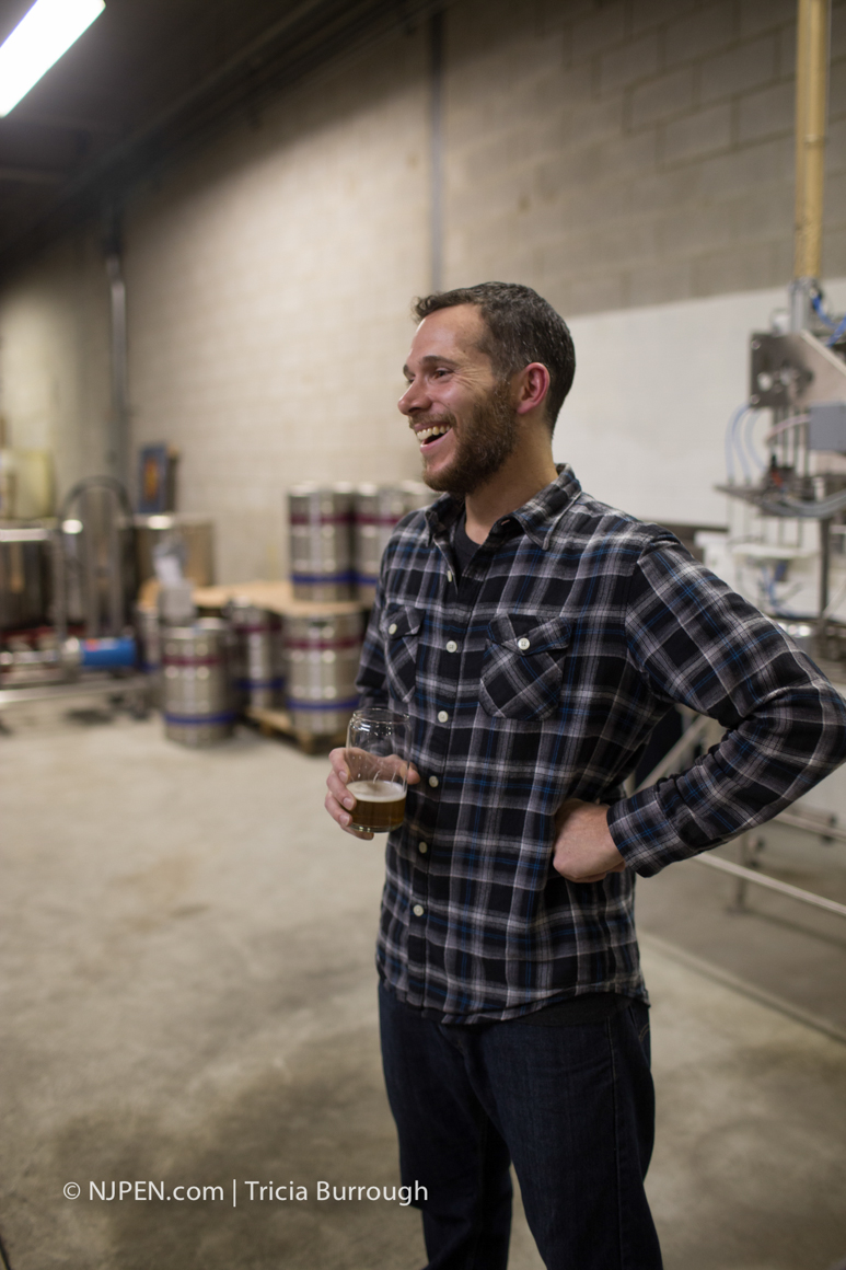 Brewmaster David Bronstein. Credit: Tricia Burrough.