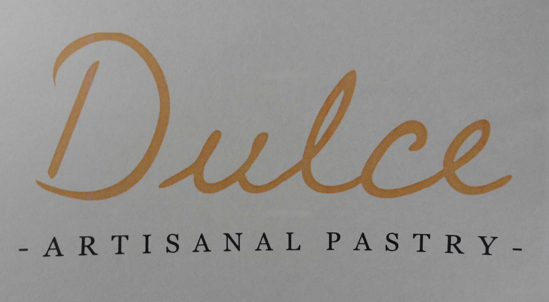 Signage for Dulce Artisanal Pastry. Credit: Josue Santiago Negron.