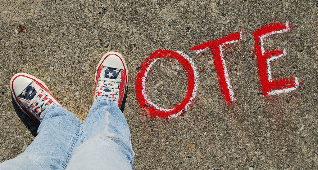 Vote. Credit: Theresa Thompson. http://goo.gl/3XnaXJ