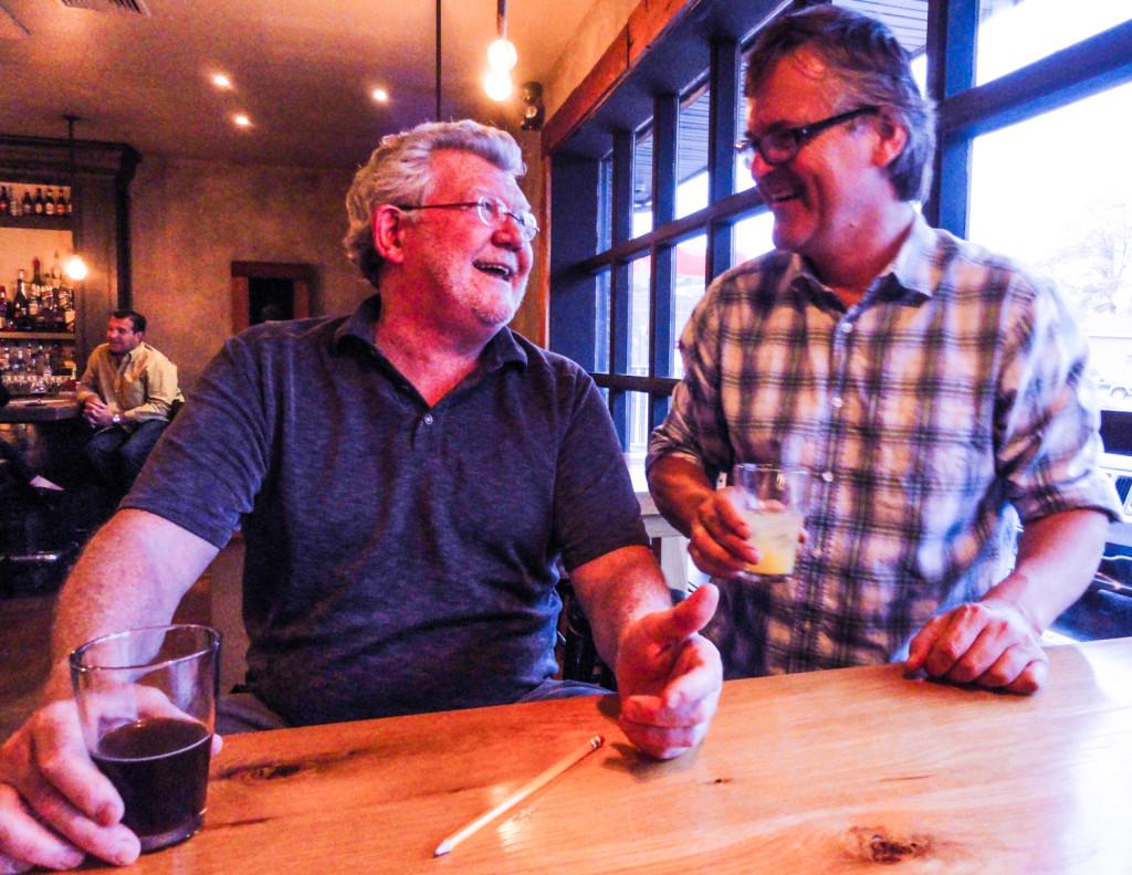 Kevin Meeeker (left) and David Dowling. Credit: Matt Skoufalos.