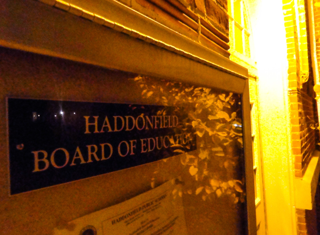 Haddonfield Board of Education building. Credit: Matt Skoufalos.