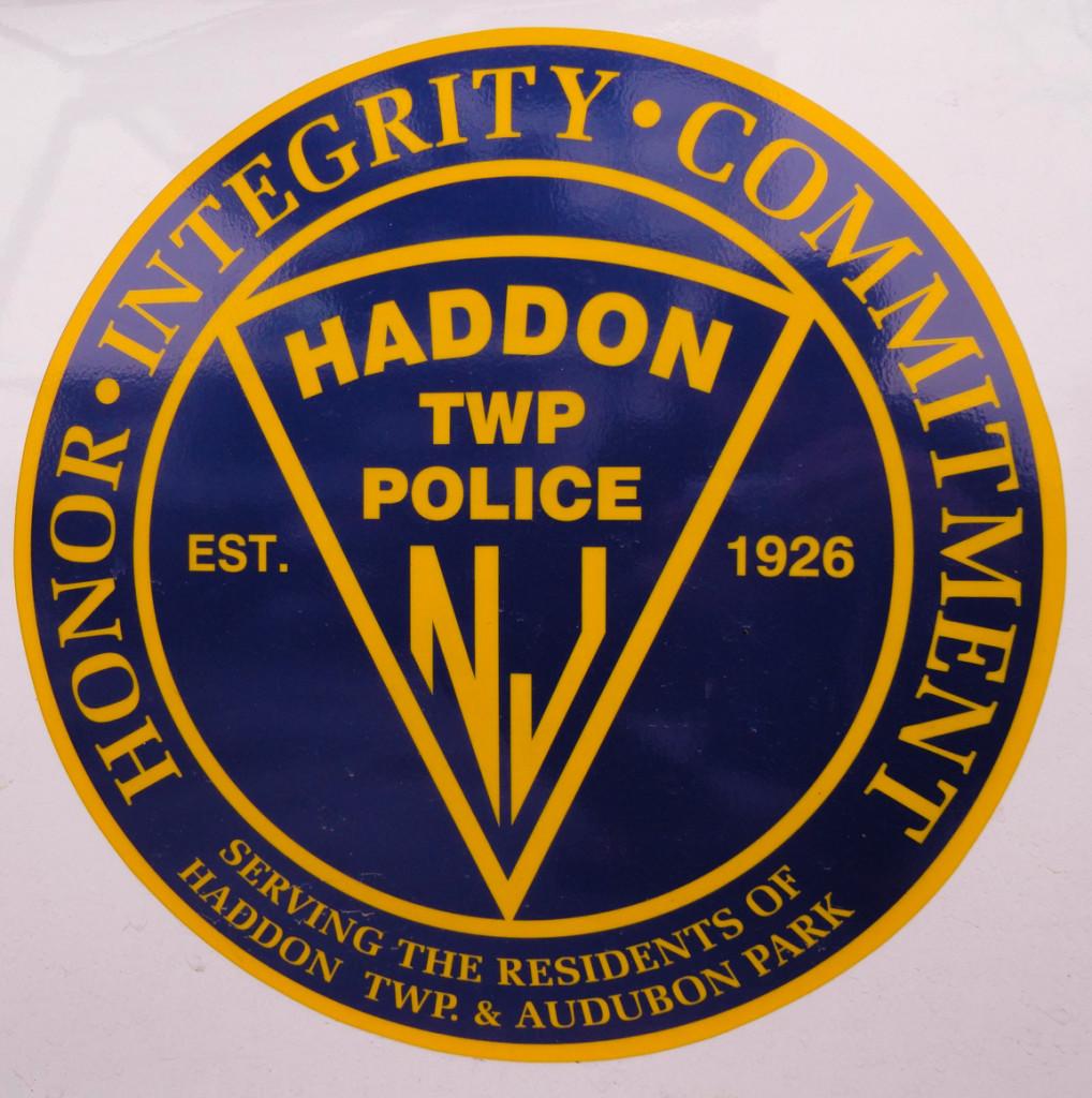 Haddon Township Police seal. Credit: Matt Skoufalos.