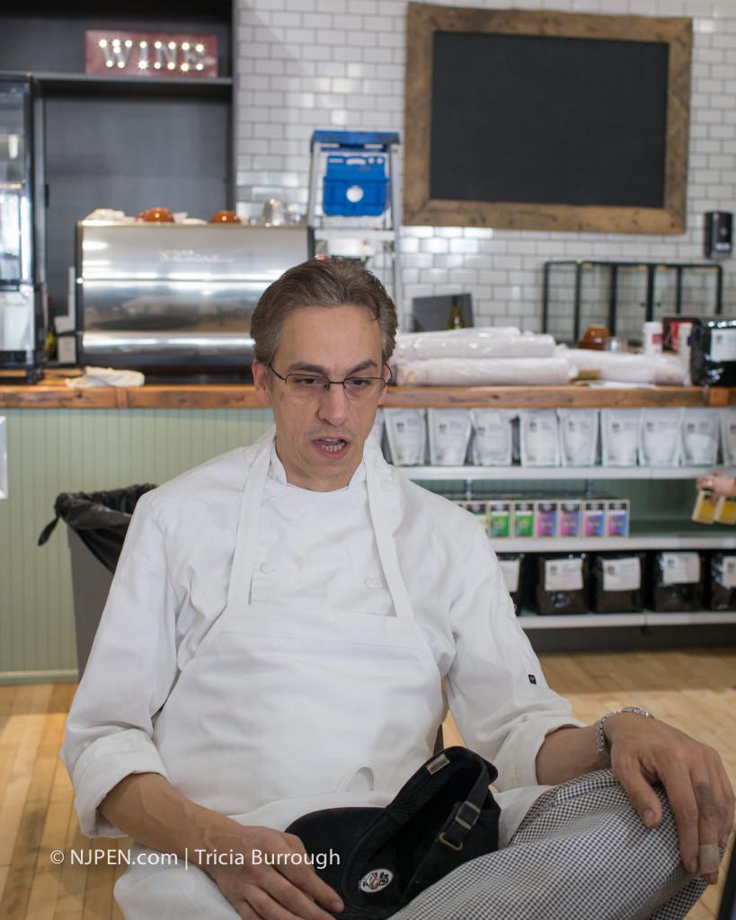 Chef David Salvatore. Credit: Tricia Burrough.