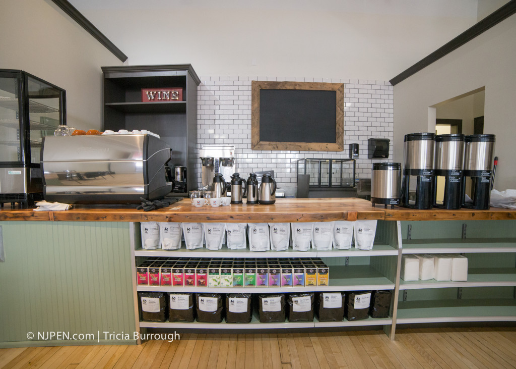 The coffee bar at Local Market Collingswood. Credit: Tricia Burrough.