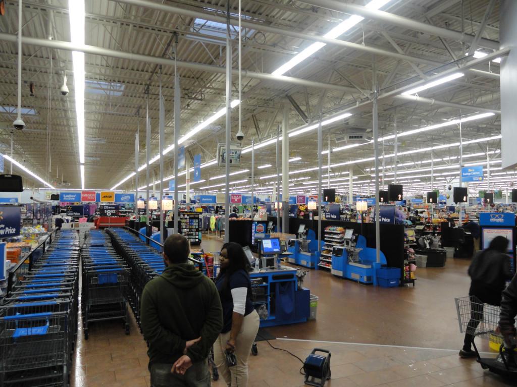 The Audubon, NJ Wal-Mart will be open 24 hours on Thanksgiving. Credit: Matt Skoufalos.