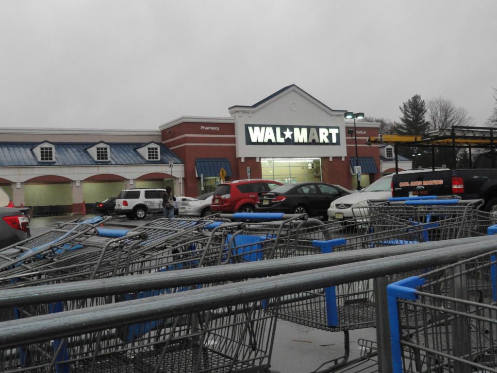 Cherry Hill, NJ Wal-Mart on Route 38. Credit: Matt Skoufalos.