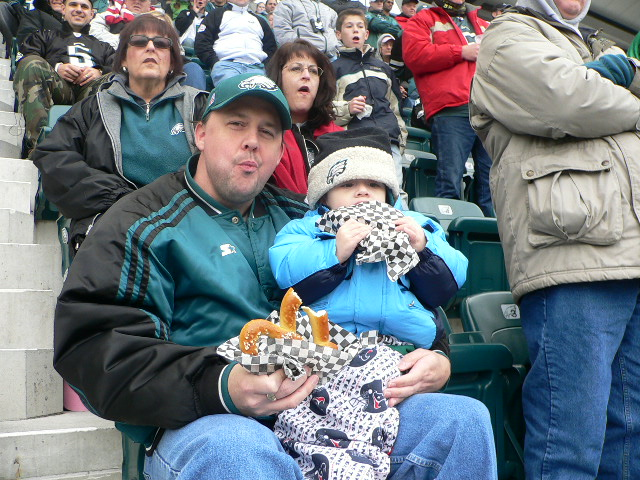 Eagles fans are hungry for the Dallas match-up. Credit: Scott Miller. http://goo.gl/3VNA6C