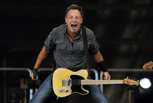 Bruce Springsteen. Credit: Andrés Fevrier: https://goo.gl/8HLFaU