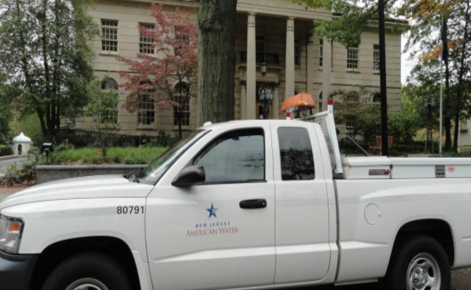 NJ American Water truck. Credit: Matt Skoufalos.