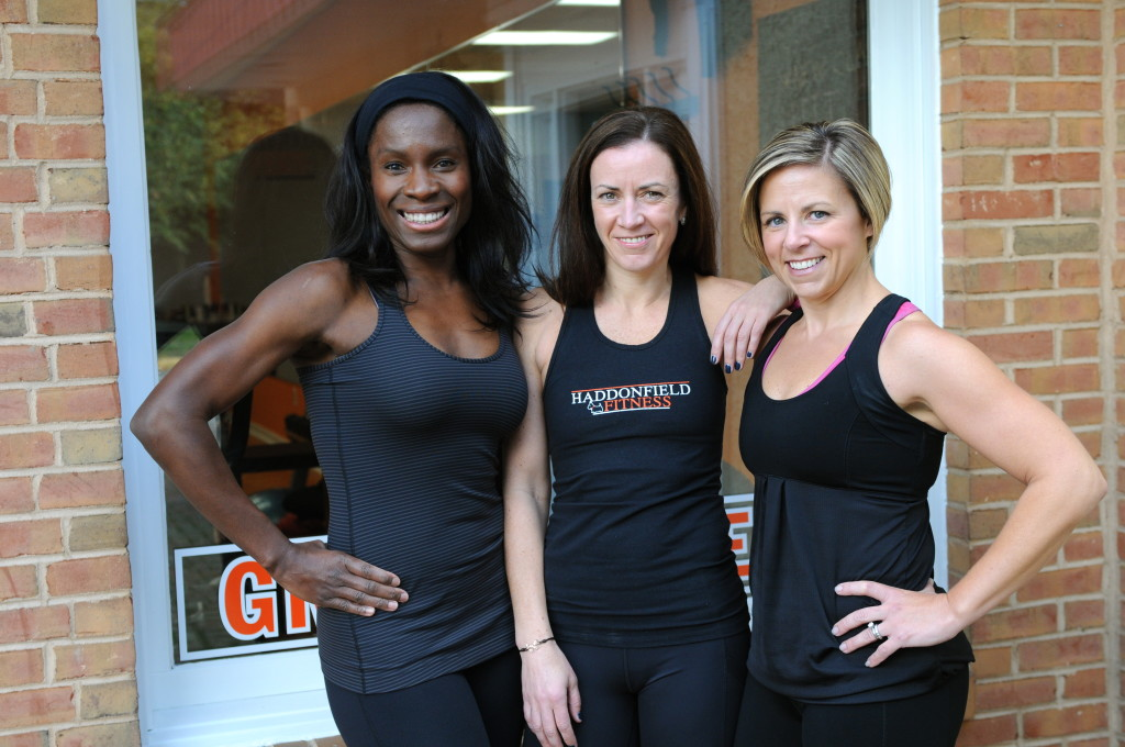 The trainers at Haddonfield Fitness offer individual and group classes.