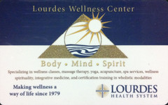 The Little Portion of Lourdes Wellness Center offers a number of services.