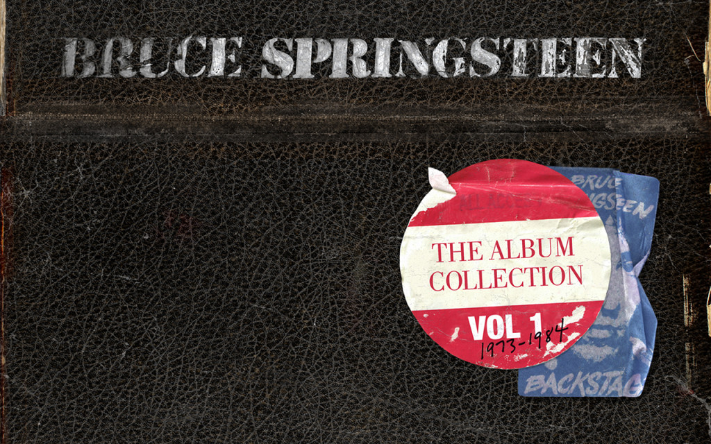 Promotional art for Bruce Springsteen: The Album Collection Volume 1.