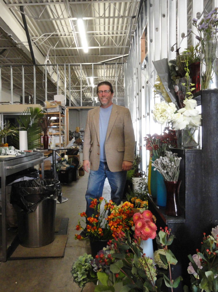 Michael Bruce in his new Pennsauken location. Credit: Matt Skoufalos.