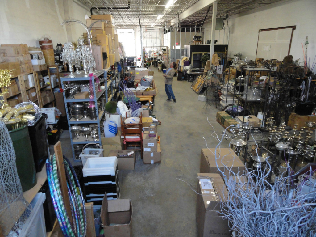 The warehouse at Michael Bruce Florist. Credit: Matt Skoufalos.