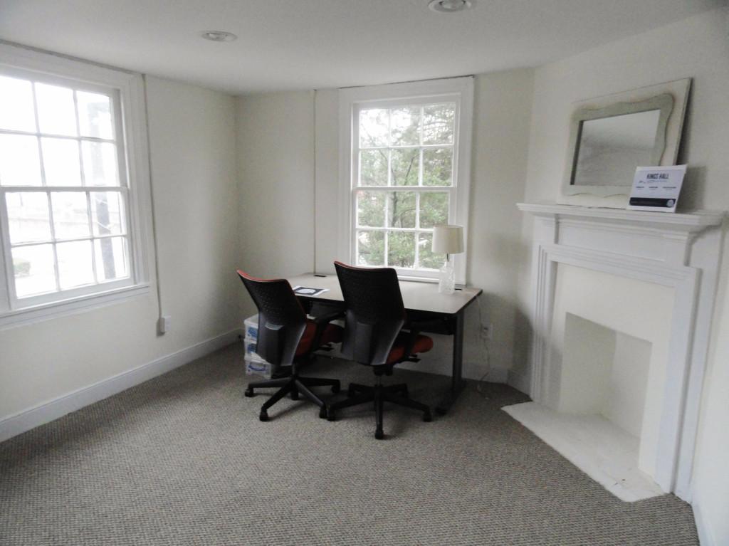 A coworking suite at Kings Hall. Credit: Matt Skoufalos.
