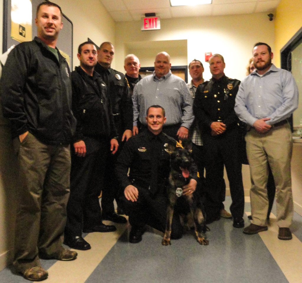 Oaklyn Police Add Full-Time Officer, K-9 at Gov't Re-Org.