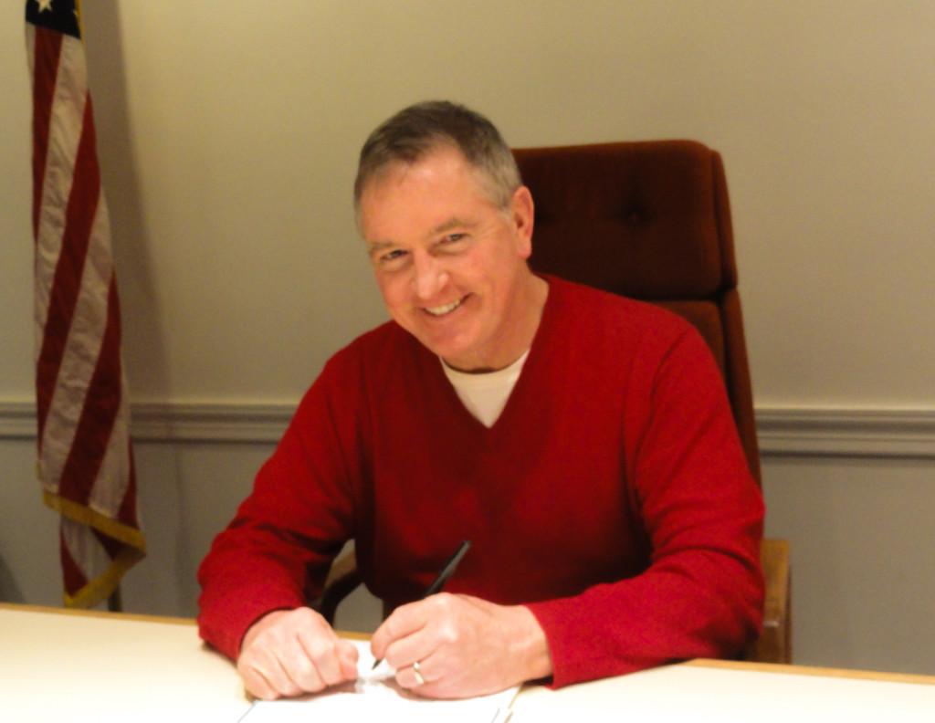 Haddon Township Commissioner John Foley. Credit: Matt Skoufalos.