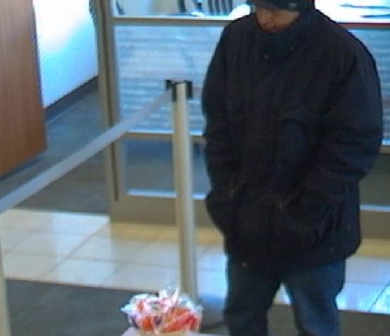 Merchantville bank robbery suspect. Credit: CCPO.