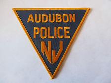 Audubon Police Patch. Credit: eBay.