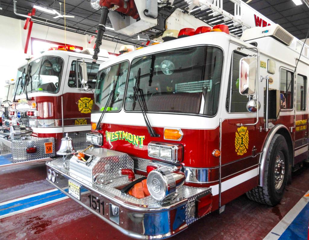 Westmont Fire Company. Credit: Matt Skoufalos.