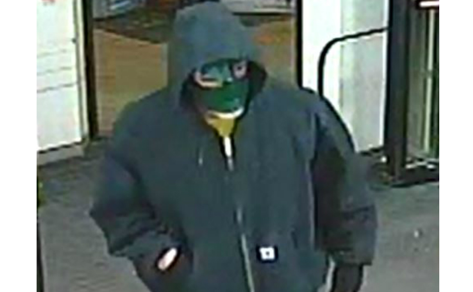 Suspect in a CVS robbery Feb. 9. Credit: Cherry Hill Police.