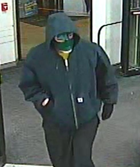 The suspect in a robbery of a Cherry Hill CVS. Credit: Cherry Hill Police.