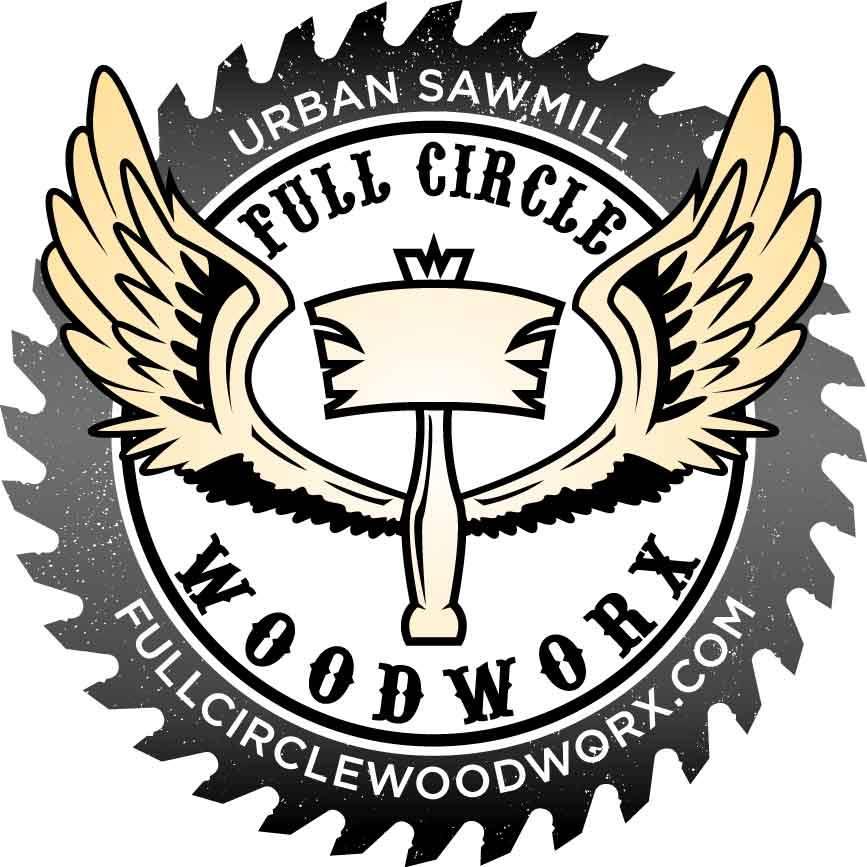 Full Circle Woodworx Logo. Credit: Jonathan Shelley.