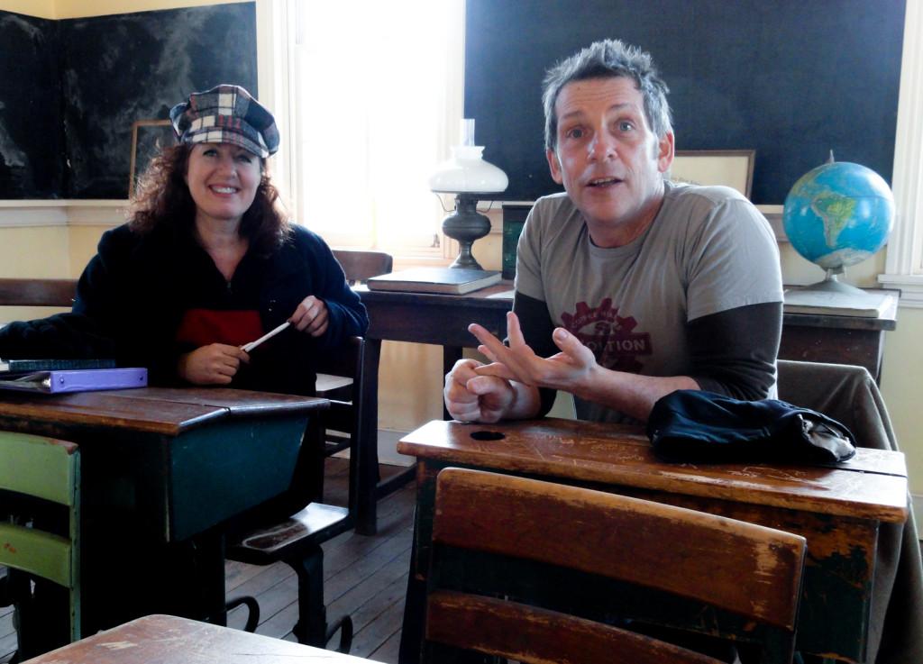 Francine Tryka and Doug Kelly. Credit: Matt Skoufalos.