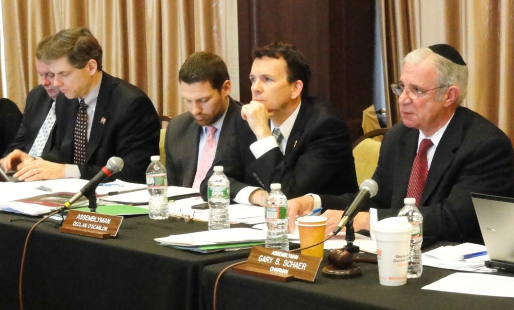 New Jersey Assemblymen in Collingswood. Credit: Matt Skoufalos.