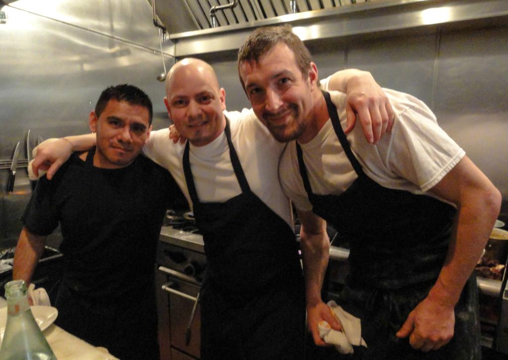 From left: Jerry Barrara, Joseph Baldino, Landon Cucinotta. Credit: Matt Skoufalos.