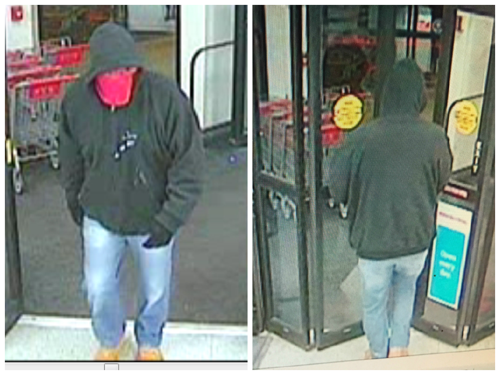 The suspect in a Cherry Hill CVS robbery. Credit: CHPD.