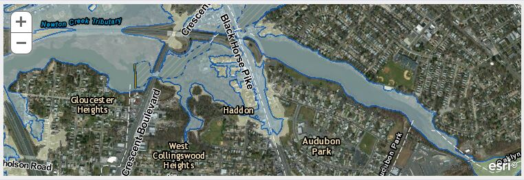 FEMA Flood Mapping Changes Could Bring New Insurance Costs To Camden - Fema flood maps nj