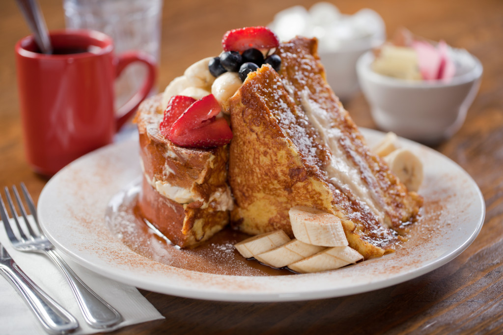 Stuffed French Toast. Credit: Sabrina's Cafe.
