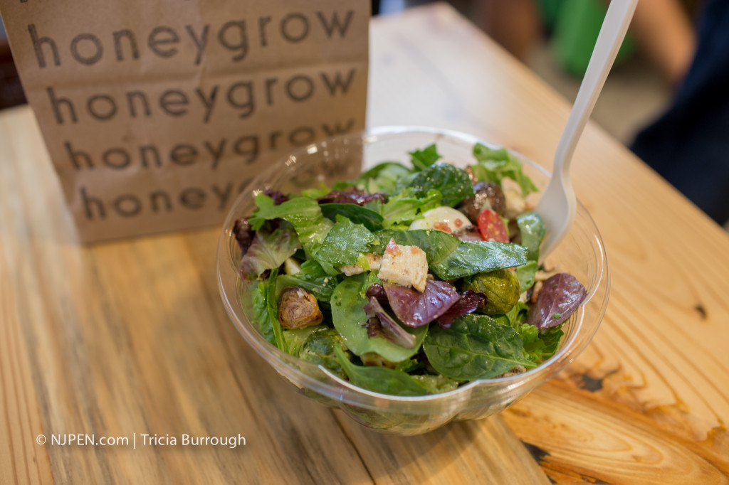 A salad at Honeygrow Cherry Hill. Credit: Tricia Burrough.