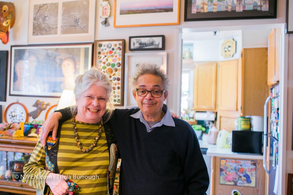 Phyllis and Bob Jackson. Credit: Tricia Burrough.