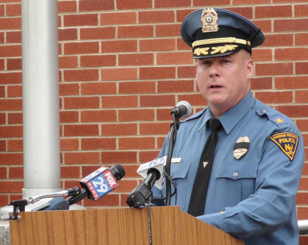 Haddon Heights Police Chief Richard Kinkler. Credit: Matt Skoufalos.
