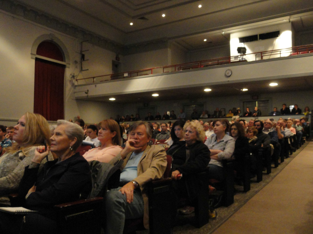 Haddonfield residents hear O'Neill's plan. Credit: Matt Skoufalos.