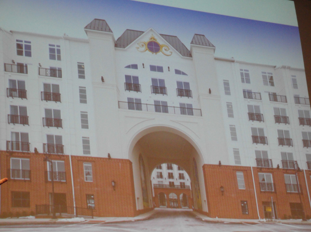 RCA rendering of an inpatient facility. Credit: Matt Skoufalos.